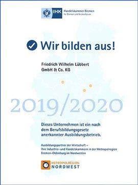 Vorschau Lübbert IHK Ausbildungszertifikat